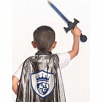 Adventure Knight Cape & Sword Set - One Size