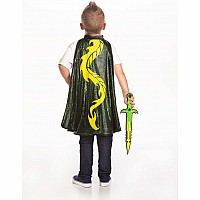 Adventure Dragon Cape & Sword Set - One Size