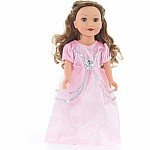 Little Adventures Doll/ Plush Royal Pink Princess Dress Up