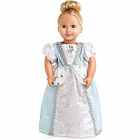 "Doll Dress Cinderella - 16""-20"" Doll/Plush"