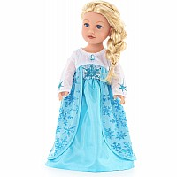 "Doll Dress Ice Princess - 16""-20"" Doll/Plush"