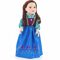 Doll Dress Scandinavian Princess - 16