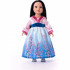 "Doll Dress Asian Princess - 16""-20"" Doll/Plush"