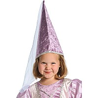 Little Adventures Princess Cone Hat Lilac