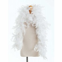 Little Adventures Feather Boa White