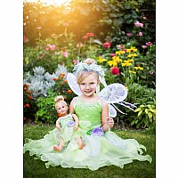 Little Adventures Deluxe Fairy Wings White