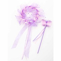 Light Pink / Lilac Fairy Halo & Wand