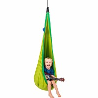 La Siesta® Joki Froggy - Organic Cotton Kids Hanging Nest With Suspension