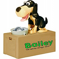 Bailey The Money-Hungry Mutt Animatronic Bank