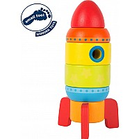 Colourful Stacking Rocket