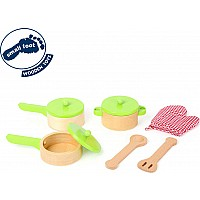 Cooking Set For Play Kitchens