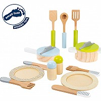 Crockery And Cookware Set Children'S Kitchen