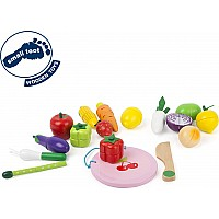 Cuttable Magnetic Fruit And Vegetable Set