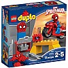 Spider-Man Web-Bike Workshop Duplo