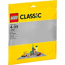 Gray Baseplate Lego Classic