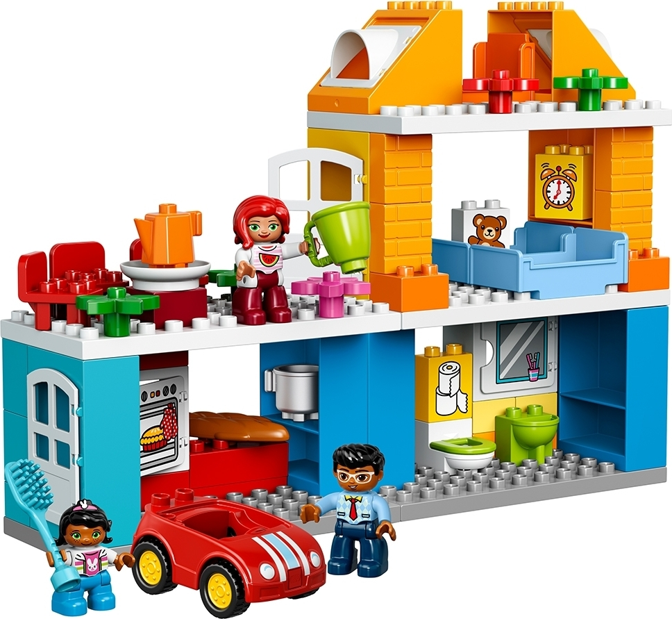 lego duplo family house smart kids toys. Black Bedroom Furniture Sets. Home Design Ideas