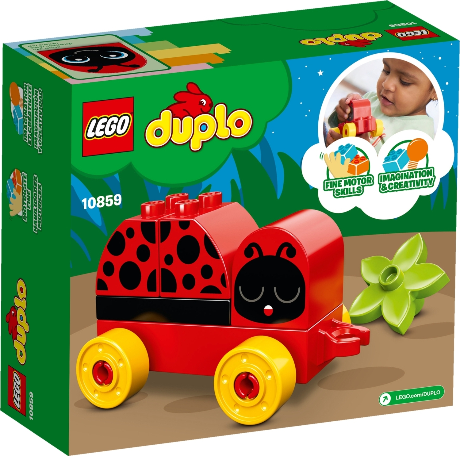 The Ladybug Duplo Island Company Toy Granville My First dxCeBo