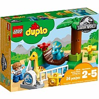 Duplo Jurassic World Gentle Giants Petting Zoo