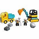 10931 Truck and Tracked Excavator - LEGO DUPLO