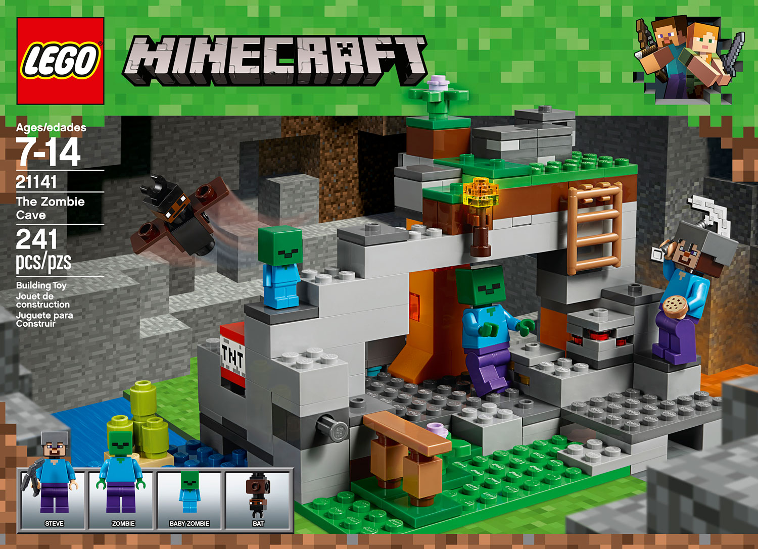 Minecraft The Zombie Cave Timbuk Toys