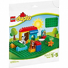 Large Green Building Plate Duplo