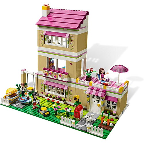 lego friends olivia 39 s house lego available at kidding. Black Bedroom Furniture Sets. Home Design Ideas