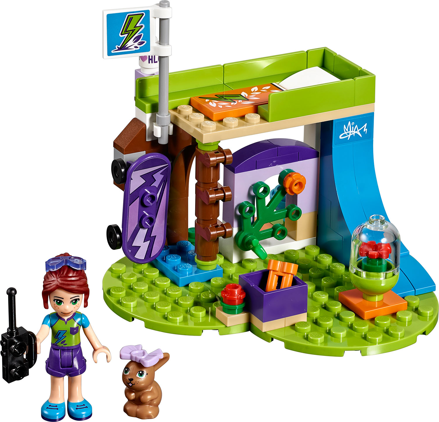 Lego Friends Mias Bedroom The Wooden Toy