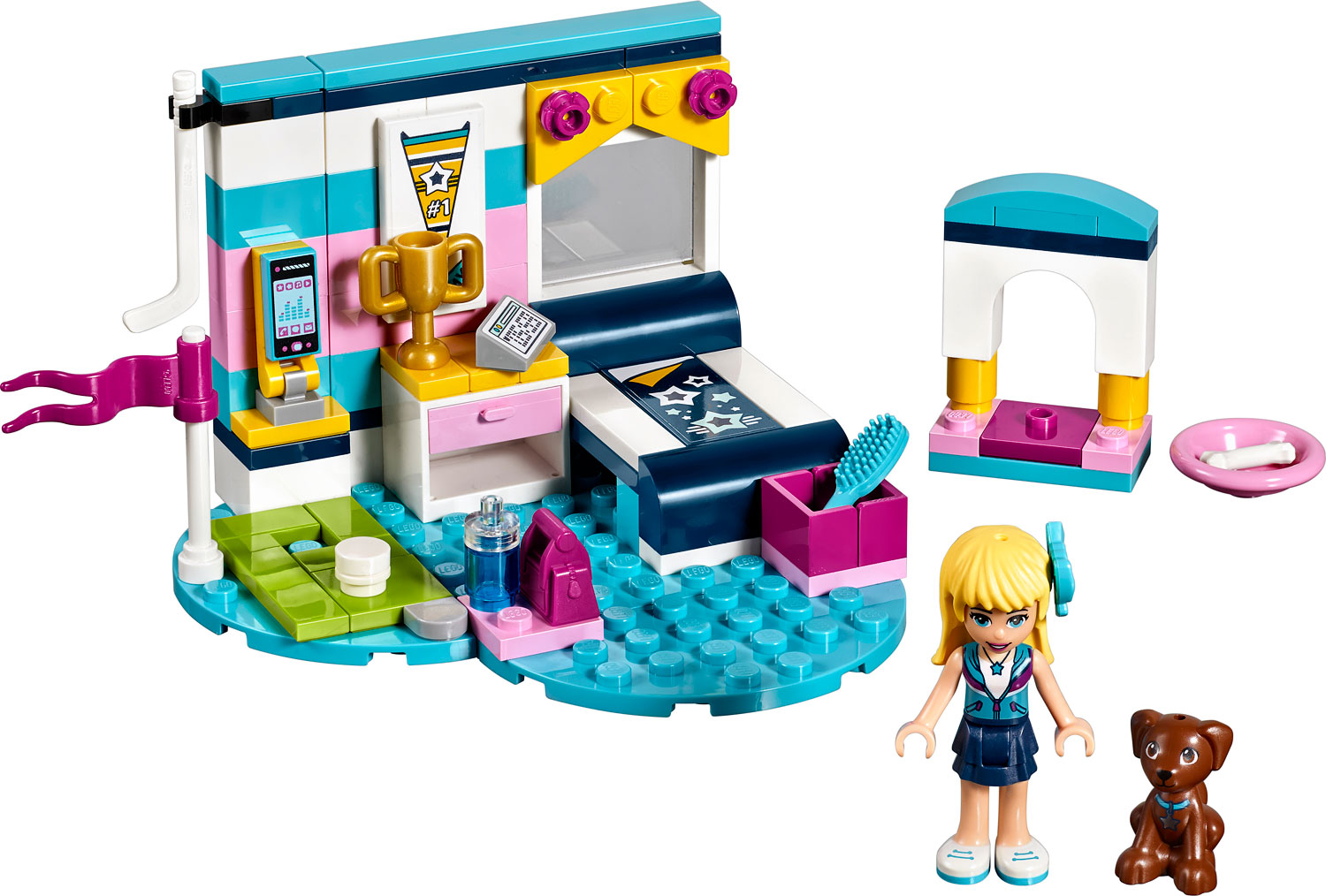 Lego Friends Stephanies Bedroom Imagine That Toys