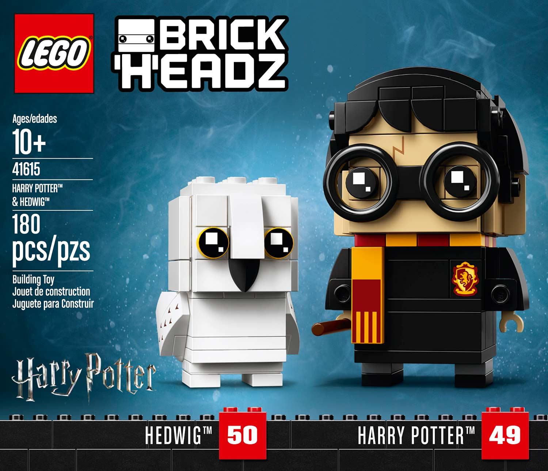 LEGO✨Harry Potter /& Hedwig BrickHeadz 41615•NEW•SEALED•RETIRED•HTF•Damaged Box