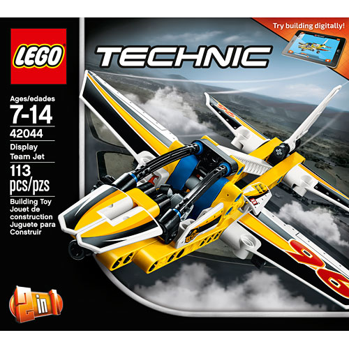 lego technic display team jet amazing toys. Black Bedroom Furniture Sets. Home Design Ideas