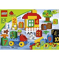 Lego Duplo Play With Numbers