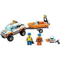 Lego City Coast Guard 60012 4x4  Diving Boat