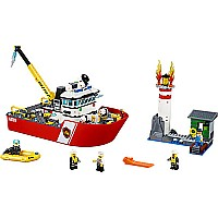 Lego City: Fire Boat