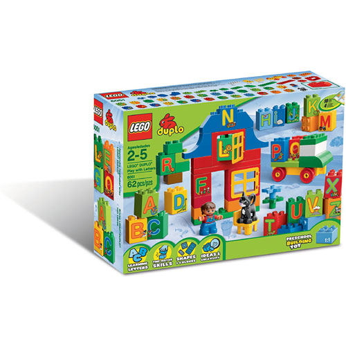 Cover Letter For Lego: Lego Duplo Play With Letters