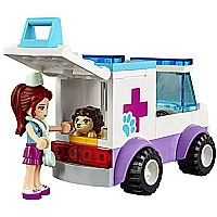 LEGO Juniors 10728 Mia's Vet Clinic Building Kit (173 Piece)