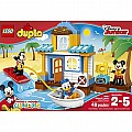 LEGO DUPLO Disney 10827 Mickey & Friends Beach House Building Kit (48 Piece)