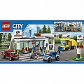 LEGO City Town 60132 Service Station Building Kit (515 Piece)