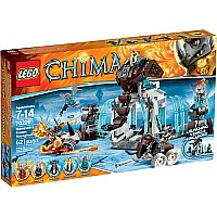 Lego Chima Mammoth's Frozen Stronghold