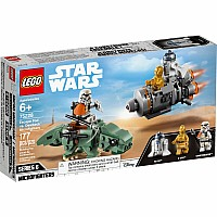 LEGO Star Wars Escape Pod vs. Dewback Microfighter