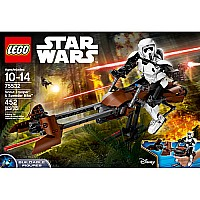 Scout Trooper and Speeder Bike