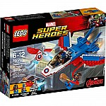 Captain America Jet Pursuit