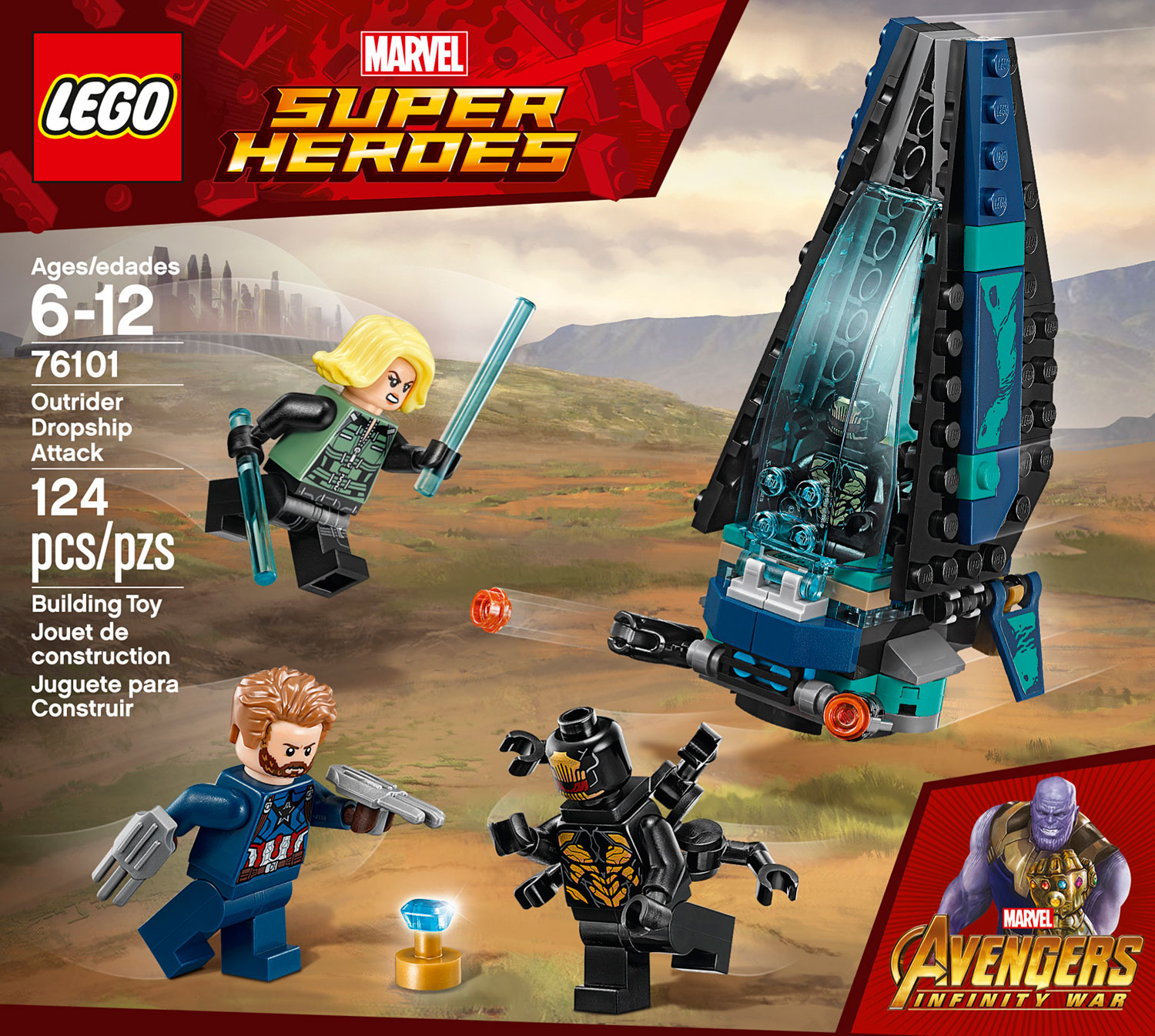 Outrider dropship attack timbuk toys - Film lego marvel ...