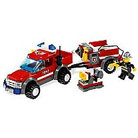 LEGO City: Off-road Fire Rescue 130 piece 7942