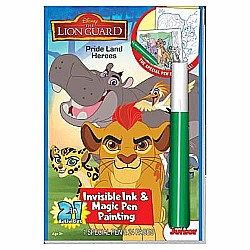 The Lion Guard Disney Lion King Invisible Ink Book