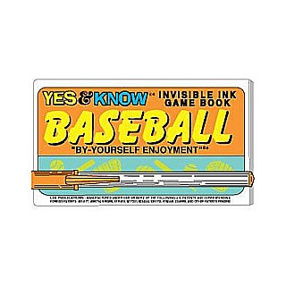 YES & KNOW SPORTS ASSORTMENT INVISIBLE GAME BOOK (Style Bs-Baseball Bk-Basketball)