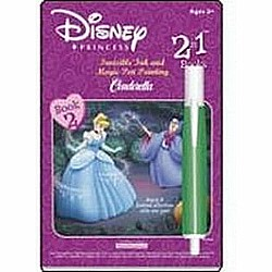 Cinderella Invisible Ink & Magic Pen Painting - Book 1
