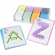 Playfoam Shape  Learn Alphabet Set