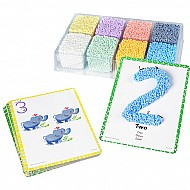 Playfoam Shape  Learn Numbers Set