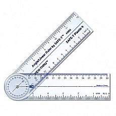 Safe-t Angle Linear Ruler/ Card