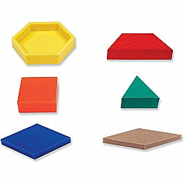 Plastic Pattern Blocks .5cm (250 PC